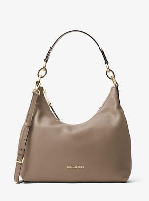 Michael Kors Isabella Large Leather Shoulder Bag $348 thestylecure.com