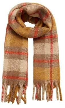 MANGO Maxi checked scarf