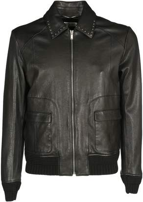 Saint Laurent Letaher Jacket Adv