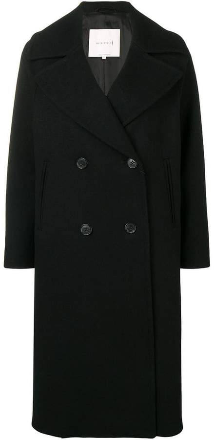 0001 oversized double breasted coat