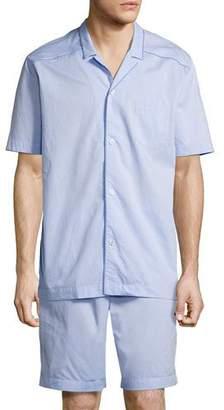 Hanro Ryan Short Pajama Set $198 thestylecure.com