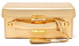 Mark Cross Grace Small Leather Cross Body Bag - Womens - Gold
