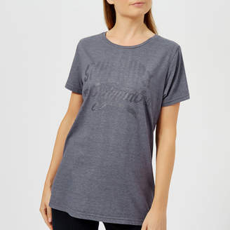 Superdry Women's MFG Gel Long Line T-Shirt