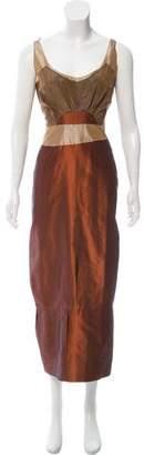 Miu Miu Sleeveless Maxi Dress