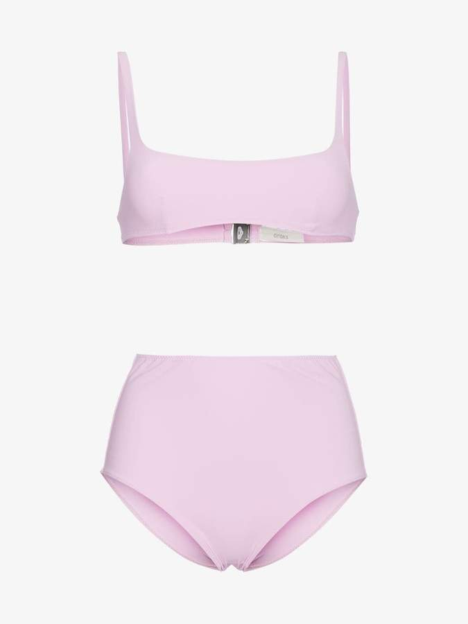 Quinn bikini top and Mallory hipster set