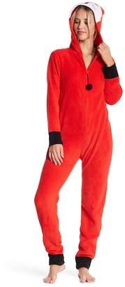 Couture PJ Fox Hood Plush One Piece