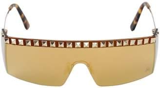 Philipp Plein Koba Stud Embellished Sunglasses