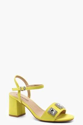 boohoo Embellished Mid Heels