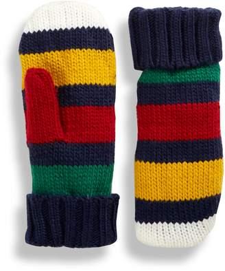 HBC Stripes Multi Stripe Mittens