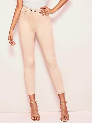 Shein Elastic Waist Skinny Jeans