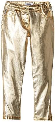 Moschino Kids Pants w/ Logo on Back Pockets Girl's Casual Pants