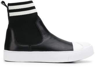 Neil Barrett skater boot hi-top sneakers