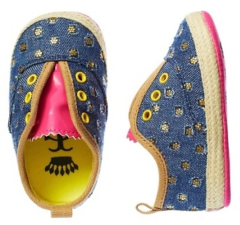 Juicy Couture Printed Canvas Shoe