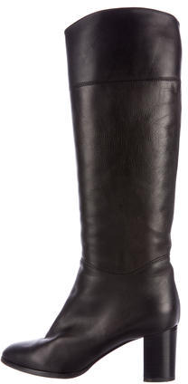 Christian Louboutin  Christian Louboutin Leather Knee-High Boots