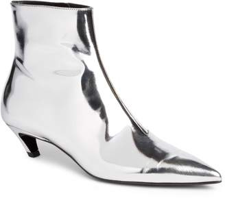 Balenciaga Metallic Pointy Toe Bootie