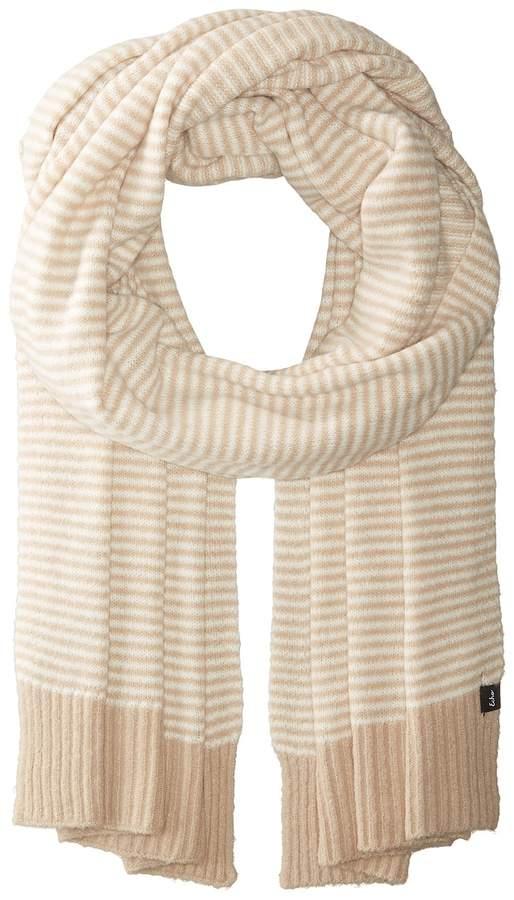 Echo Design - Echo Soft Stretch Mini Stripe Muffler Scarves