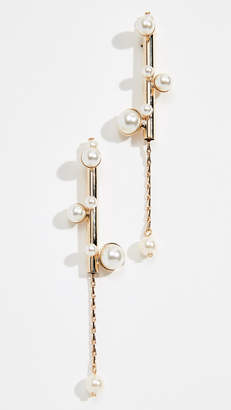 Anton Heunis Bubble Stick Imitation Pearl Earrings