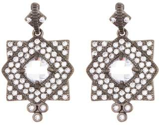 Freida Rothman Visionary Fusion Pave Crystal Earrings