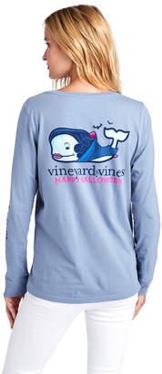 Vineyard Vines Long-Sleeve Vampire Whale Pocket Tee