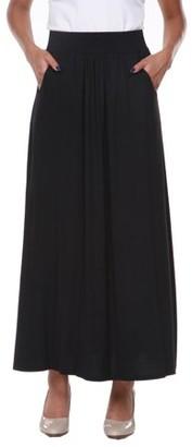 White Mark Women's Maxi Skirt