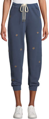The Great The Cropped Sweatpants with Stars