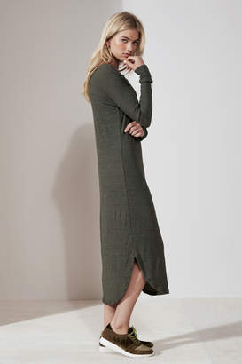 THE FIFTH HENDRIX LONG SLEEVE DRESS khaki
