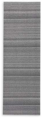 Chilewich Skinny Stripe Shag Runner