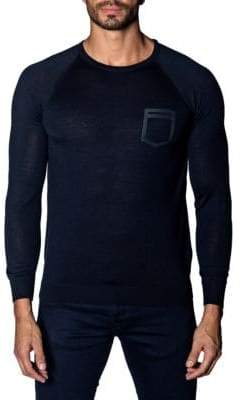 Jared Lang Trim-Fit Lightweight Sweater