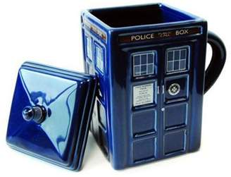 Doctor Who Dr Who 3D Moulded Tardis Mug With Lid