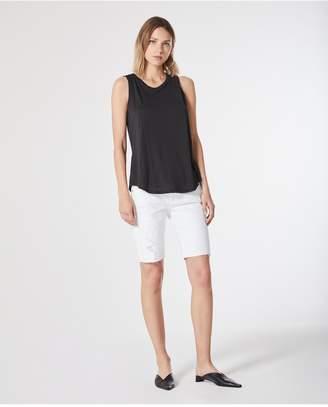 AG Jeans The Nikki Short - 1 Yr White Mended