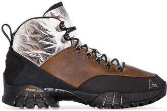 ROA Andreas panelled hiking boots