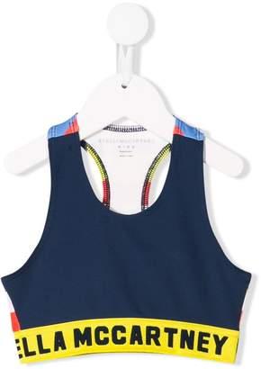 Stella McCartney logo cropped vest top