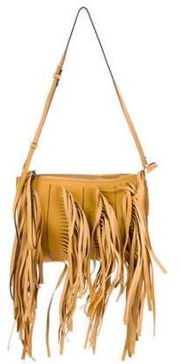 Marni Fringe-Embellished Leather Crossbody Bag