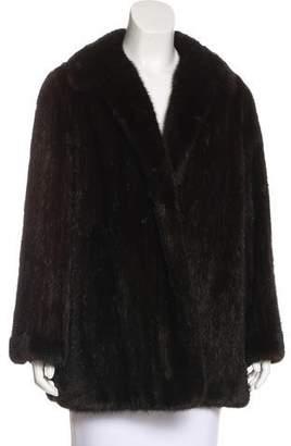 Oscar de la Renta Vintage Mink Fur Coat