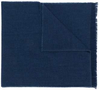 Borrelli fringed edges scarf
