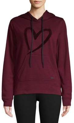 Andrew Marc Performance Graphic Long-Sleeve Hooded Pullover