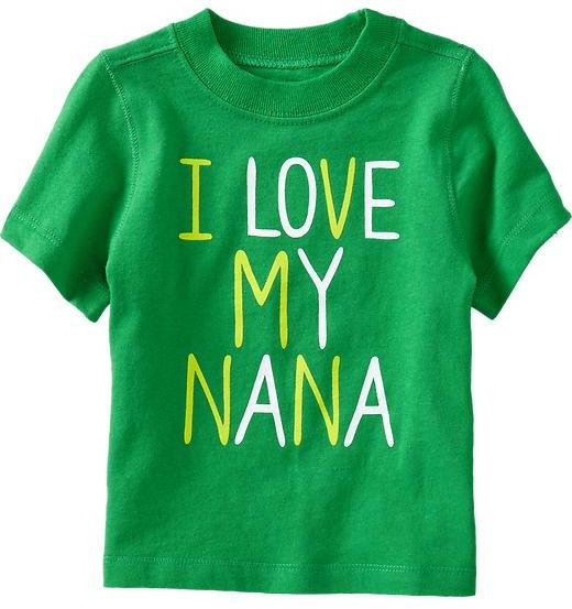 "Nana ""I Love My Tees for Baby"