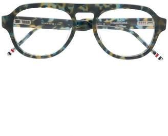 Thom Browne Eyewear NAVY TORTOISE GLASSES