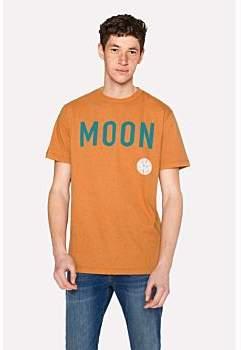 Paul Smith R.E.M. + Orange Marl 'Moon' Print T-Shirt