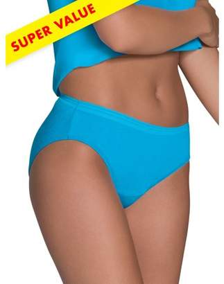 Fruit of the Loom Women's Heather Bikini, Special Value 12 Pack