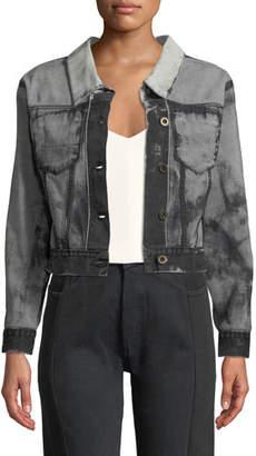 Unravel Gradient Backward & Inside Out Jacket
