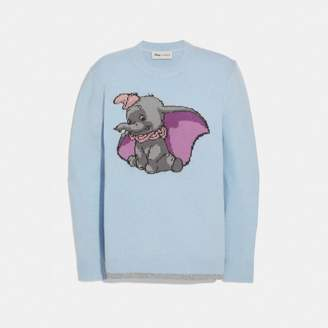 Coach Disney X Dumbo Intarsia Sweater