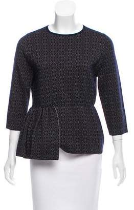 Dries Van Noten Wool Jacquard Sweater