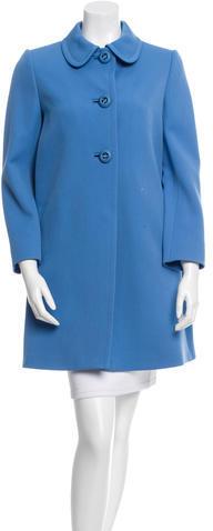 pradaPrada Virgin Wool Knee-Length Coat