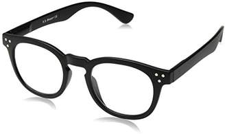 A. J. Morgan A.J. Morgan Unisex-Adult Cause - Power 0 40154A Square Reading Glasses