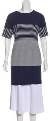 Theory Stripe Short Sleeve T-Shirt