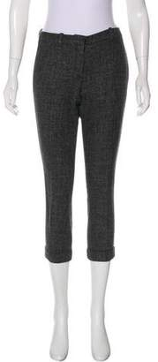 Robert Rodriguez Wool Straight-Leg Pants