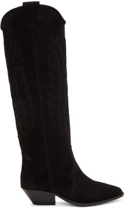 Isabel Marant Black Denzi Boots
