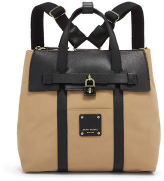 Henri Bendel Jetsetter Mini Convertible Color Blocked Backpack