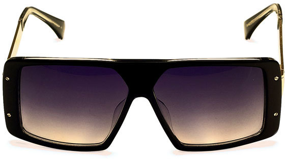 Am Eyewear Rick Sunglasses in Black